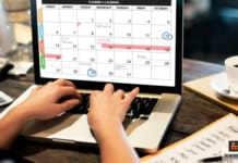 جدول الأعمال الأسبوعي
