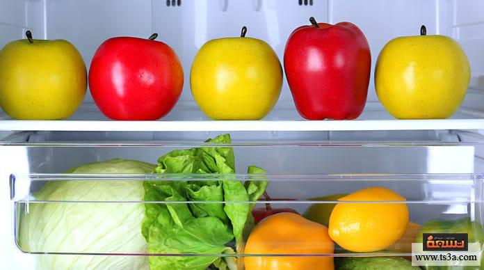 حفظ الخضروات الورقية حفظ الخضروات والفواكه في الفريزر