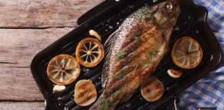 صينية سمك قشر البياض