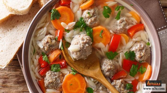 لسان العصفور لسان العصفور بحساء الفطر