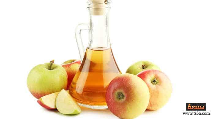 بثور الجبين استخدام خل التفاح