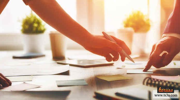 إنهاء العمل جدولة أعمال يومك في الليلة السابقة للتمكن من إنهاء العمل سريعًا