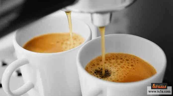 ماكينة القهوة سنسيو استخدم ماكينة القهوة سنسيو على الماء النظيف