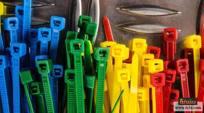 أشرطة الربط البلاستيكي