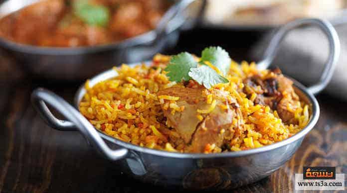 الطعام الهندي