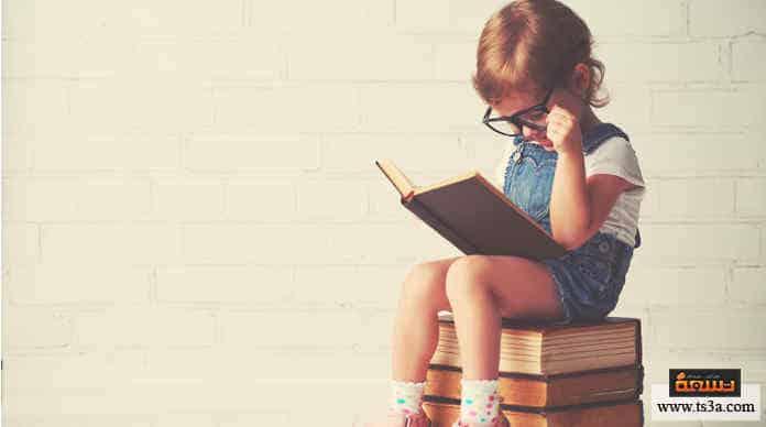 تعليم الطفل القراءة استخدام الأدوات