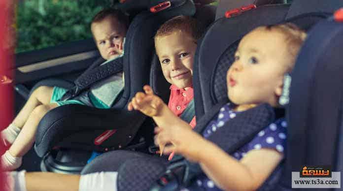 مزعجات الآباء مقاعد الأطفال في السيارة