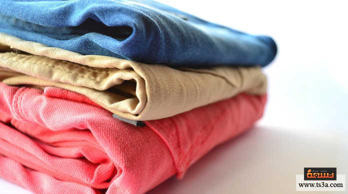 أخطاء غسل الملابس أنت تخلط في الملابس عند الغسيل بين الملون وبين نوع القماش