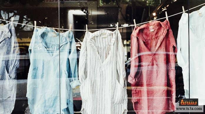 أخطاء غسل الملابس انت لا تقوم بالترتيب أو التعليق