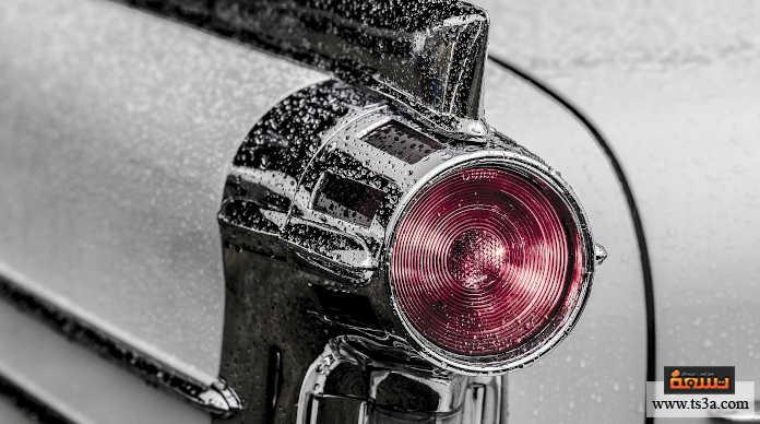 الحفاظ على السيارة تنظيف المصابيح الأمامية