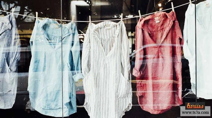 أخطاء تنظيف الملابس أنت لا تفصل ملابسك حسب الألوان بطريقة سليمة