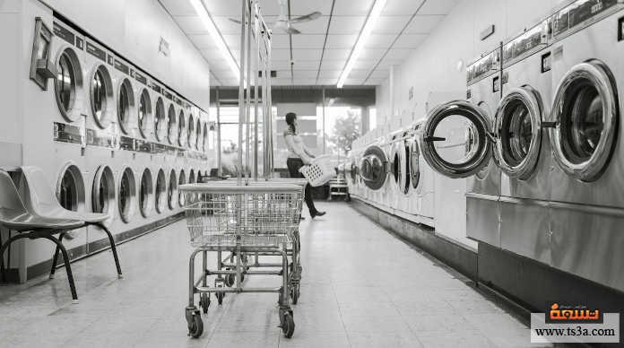 أخطاء تنظيف الملابس ملء حوض الغسالة كاملا