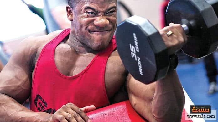 تمرين عضلة البايسبس