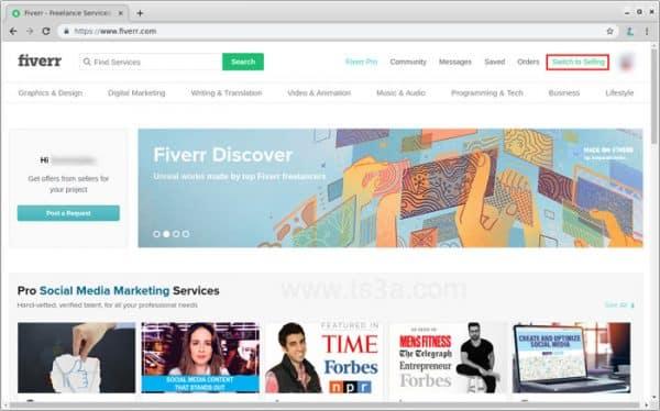 عرض الخدمات على فايفر 3