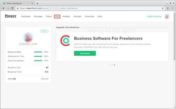 عرض الخدمات على فايفر 4